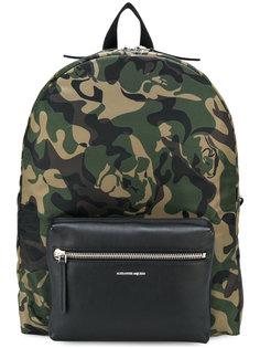 рюкзак с камуфляжным принтом Alexander McQueen