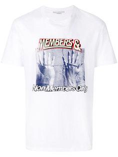 футболка с принтом  Stella McCartney