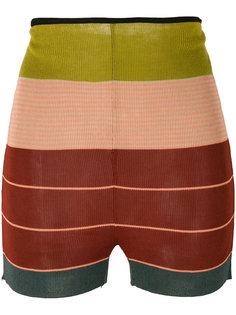 трикотажные шорты в полоску  Jean Paul Gaultier Vintage