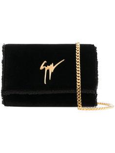 сумка на плечо с бахромой  Giuseppe Zanotti Design
