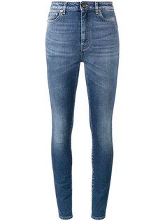 узкие джинсы с завышенной талией Saint Laurent