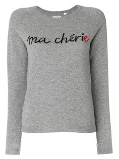 embroidered cashmere sweater Chinti And Parker