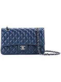 стеганая сумка с двойным клапаном CC Chanel Vintage