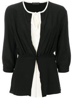 присборенная блузка с бантом  Etro