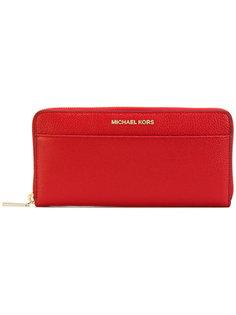 кошелек на круговой молнии Michael Michael Kors