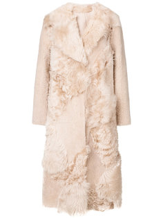 midi fur coat Drome