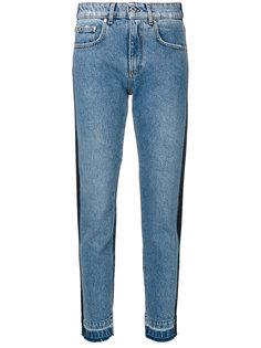 прямые джинсы в двух тонах MSGM