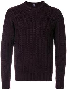 свитер зигзагообразной вязки Eleventy