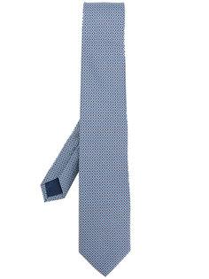 галстук double Gancio Salvatore Ferragamo
