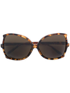 square frame sunglasses Linda Farrow