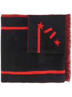 шарф с принтом числа 17 Givenchy