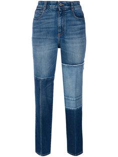 укороченные джинсы в стиле печворк Stella McCartney