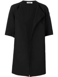 пальто с драпировкой  Jil Sander