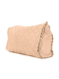 стеганая сумка-тоут с цепочкой и логотипом CC Chanel Vintage