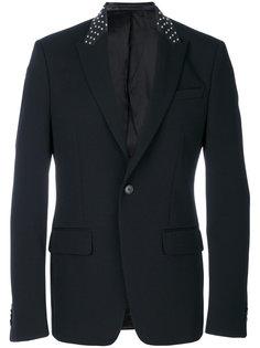 пиджак с заклепками на воротнике Givenchy
