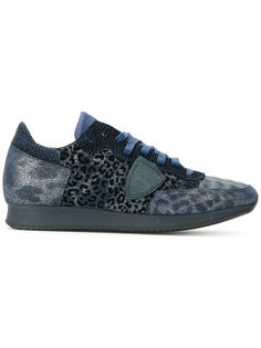 animal print trainers Philippe Model