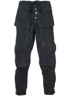 брюки карго Greg Lauren