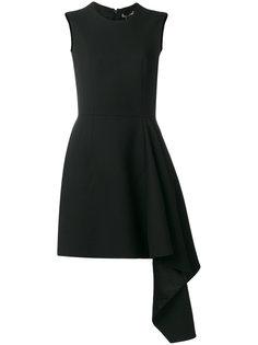 драпированное мини-платье Alexander McQueen