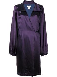 короткое платье с запахом Yves Saint Laurent Vintage