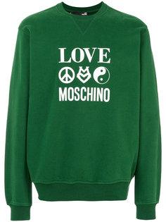 толстовка Love Moschino Love Moschino