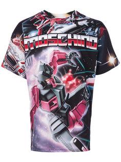 футболка Transformers Moschino