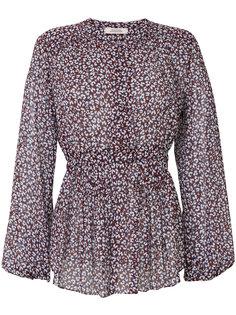 блузка с леопардовым принтом  Dorothee Schumacher