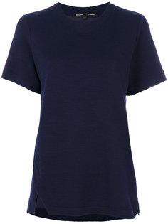 классическая однотонная футболка Proenza Schouler