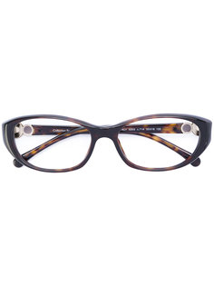 очки в овальной оправе  Chanel Vintage