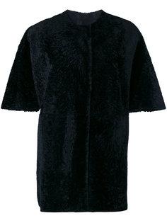 furry detail coat  Drome