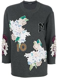 толстовка с аппликацией Dolce & Gabbana