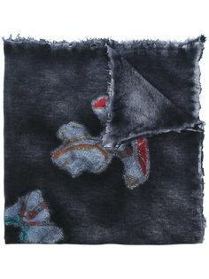 вязаный шарф с абстрактным узором  Avant Toi