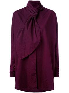 блузка с бантом  Romeo Gigli Vintage
