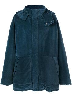 свободное пальто с капюшоном  Yeezy