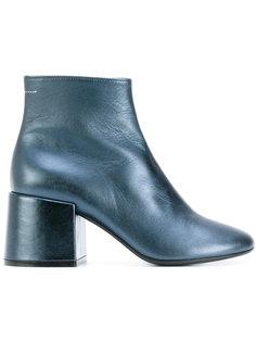 ботинки с эффектом металлик Mm6 Maison Margiela