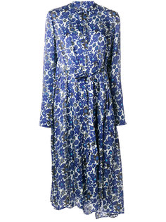 платье с цветочным принтом и принтом пейсли Christian Wijnants