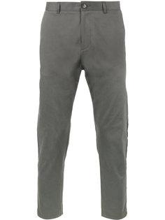 укороченные брюки-чинос с лампасами Lot78
