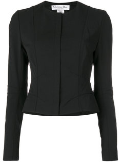 пиджак без воротника  Christian Dior Vintage