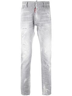 прямые джинсы Dsquared2