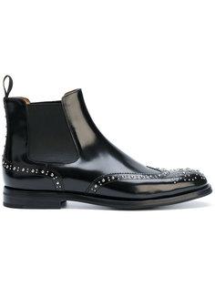ботинки челси с заклепками  Churchs