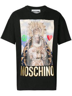 футболка с принтом Мадонны Moschino
