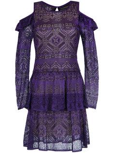 cold shoulder dress Cecilia Prado