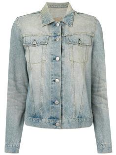 выбеленная джинсовая куртка  Helmut Lang Vintage