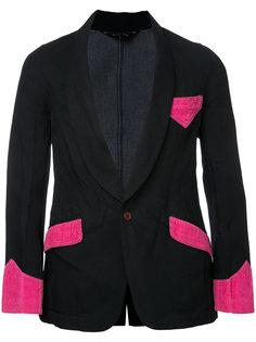 пиджак с отделкой  Comme Des Garçons Vintage