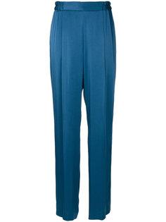 прямые атласные брюки Stella McCartney