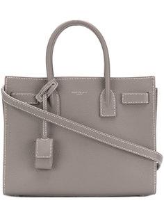 миниатюрная сумка-тоут Sac de Jour Saint Laurent