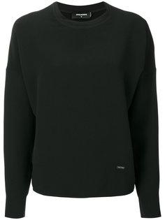 блузка с круглым вырезом Dsquared2