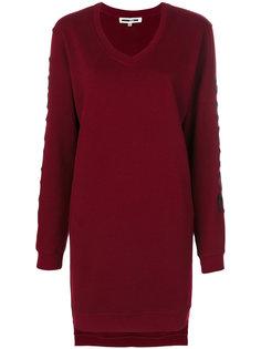 платье-толстовка с вышивкой McQ Alexander McQueen