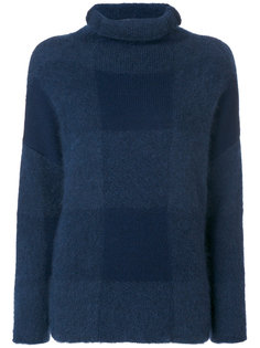 checked jumper Cédric Charlier