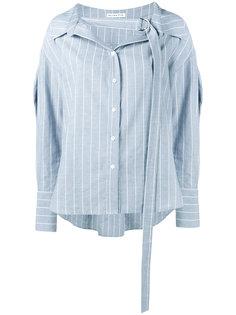 рубашка в тонкую полоску Rosa Rejina Pyo
