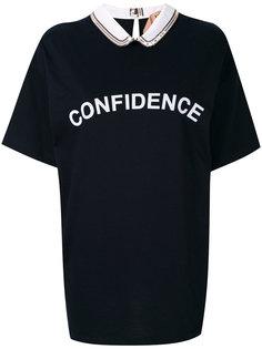 футболка с принтом confidence Nº21